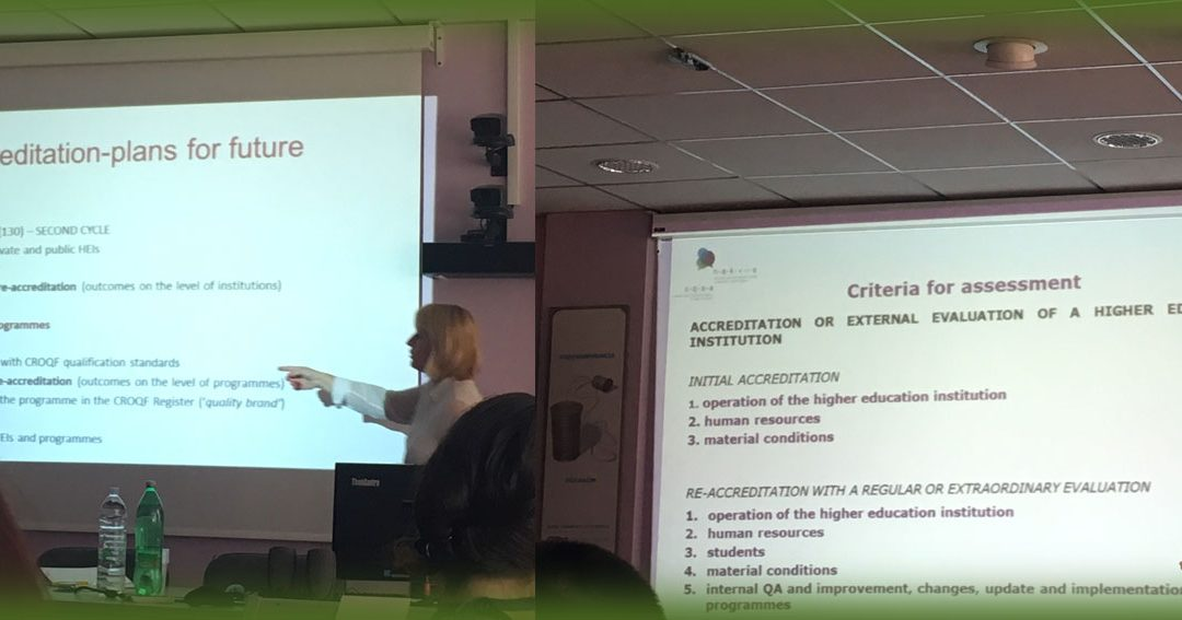· Unibasq took part in the regional seminar for agencies regarding institutional evaluations in Dubrovnik.