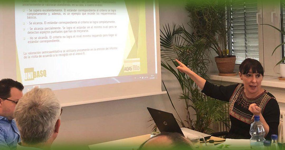· Unibasq imparte un taller de formación para evaluadores en Colonia (Alemania)