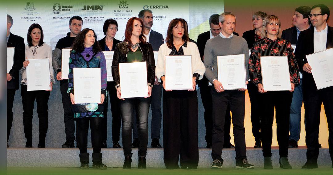 · Unibasq recibe el Certificado Bikain de Plata en el Palacio Euskalduna de Bilbao el pasado 13 de diciembre