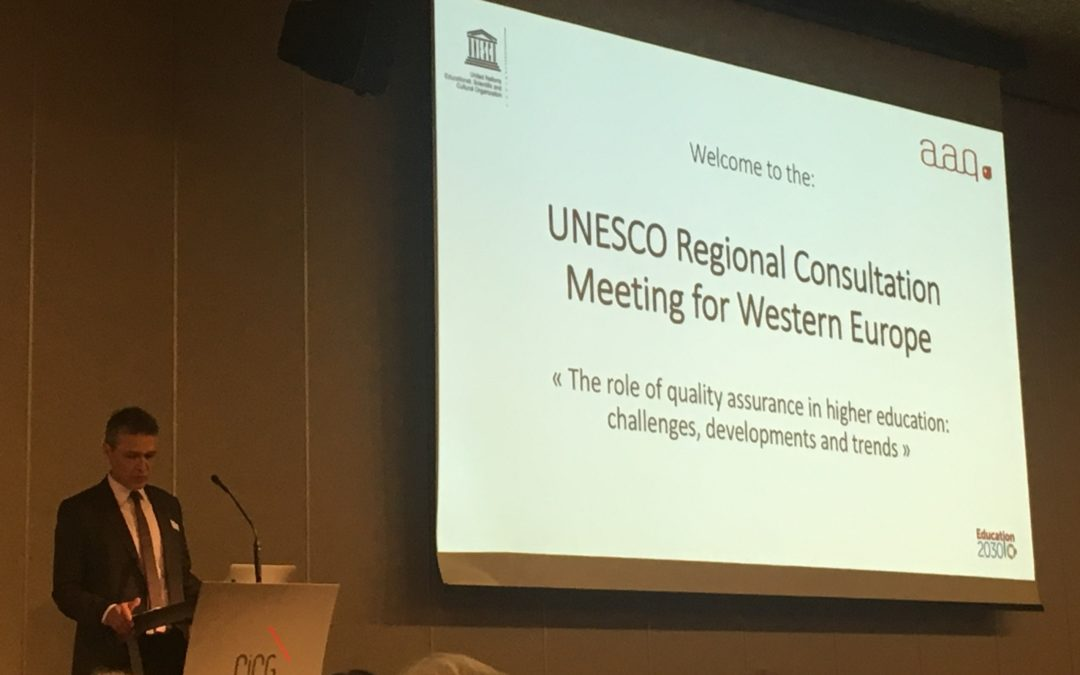 ·UNESCO Regional Consultation Meeting for Western Europe