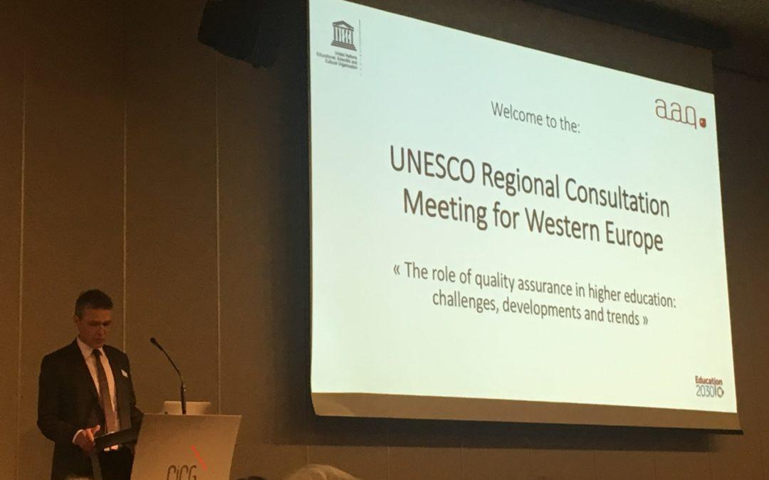 ·UNESCO Regional Consultation Meeting for Western Europe
