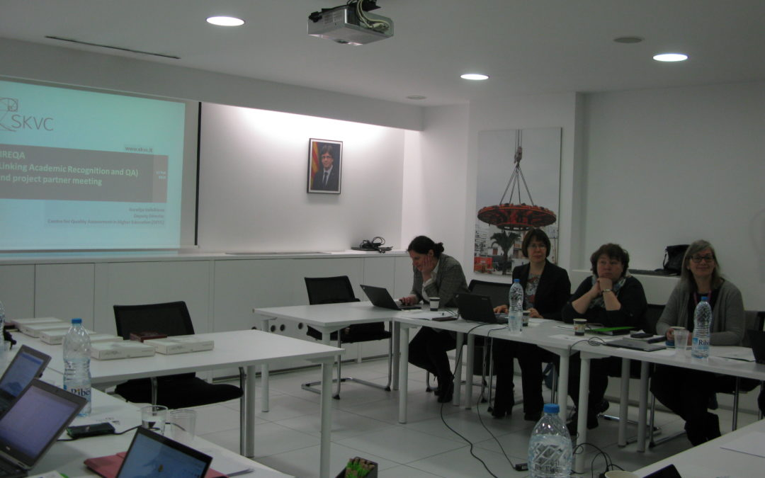 ·LIREQA project meeting in Barcelona