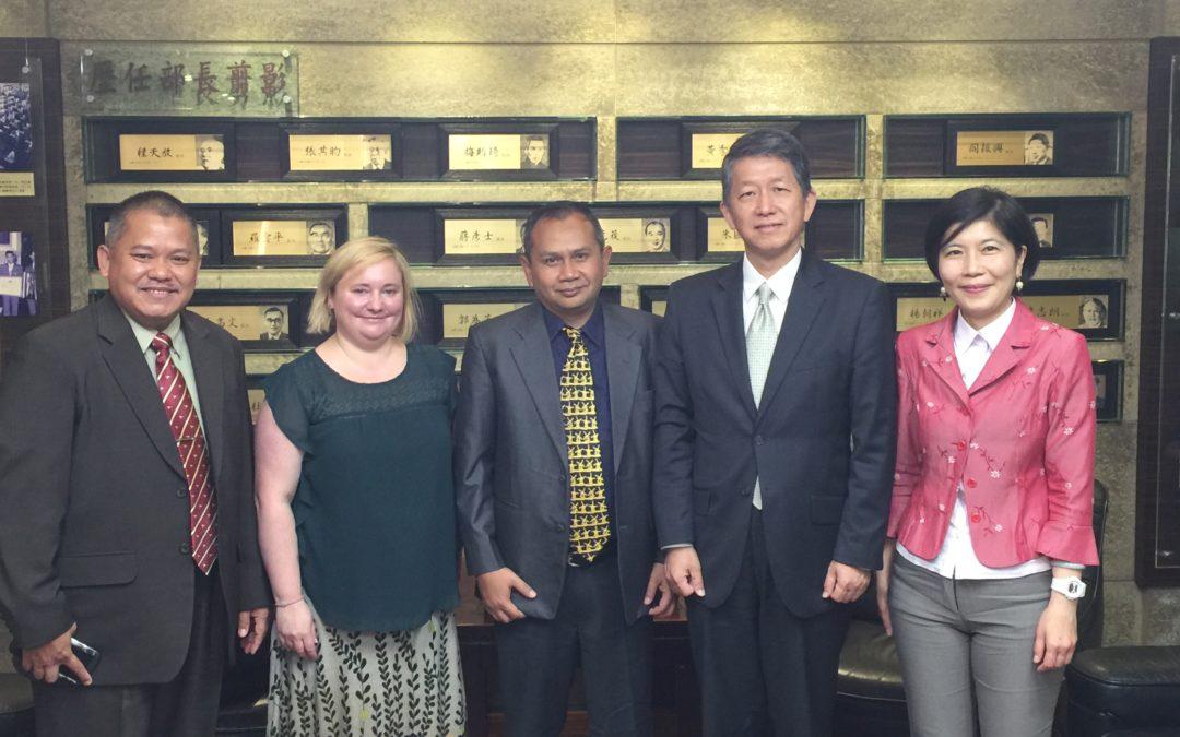 •Unibasq represents ECA in a workshop in Taipei