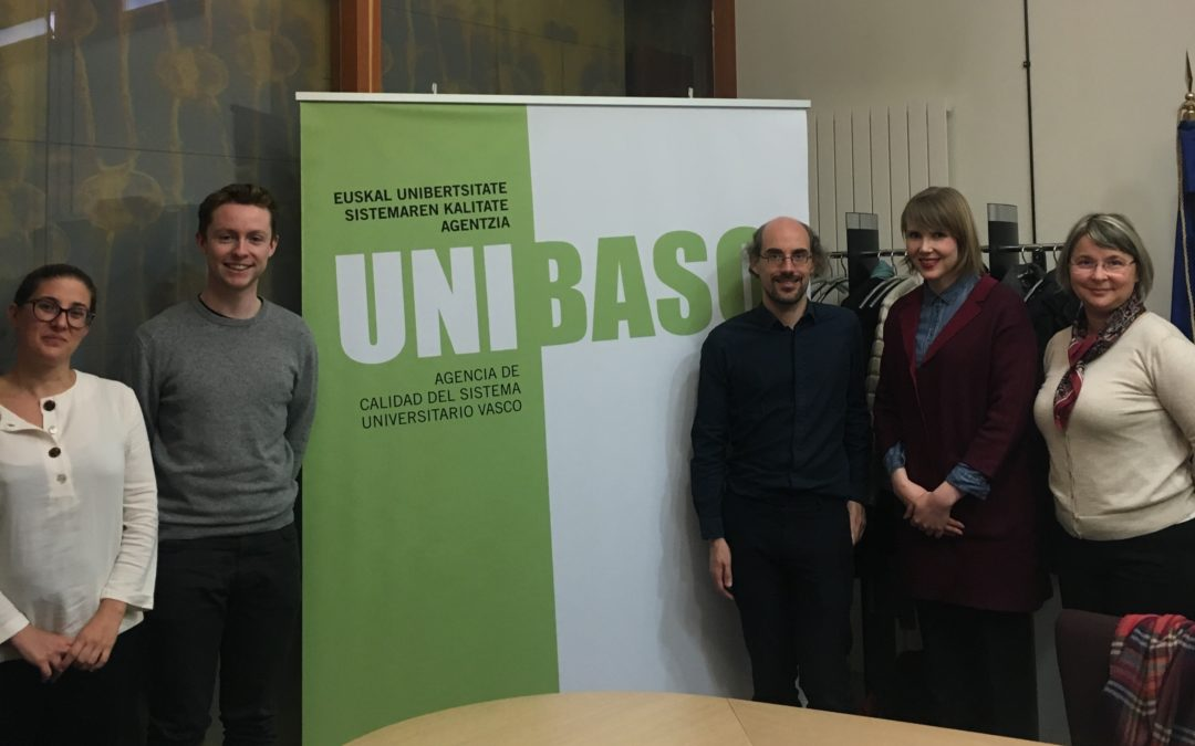• Unibasq receives the visit of the ENQA panel