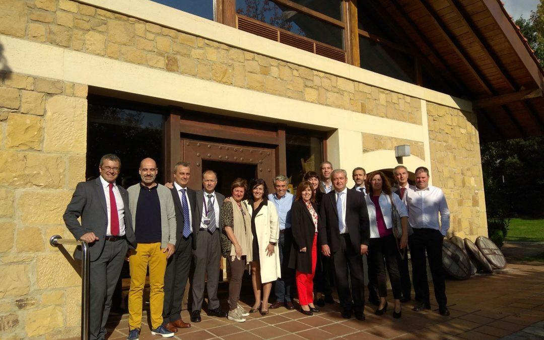 •  Unibasq  Euskal  Herriko  Parke  Teknologikoen  Sareak  bisitatzen
