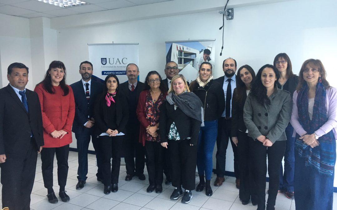 • Unibasq visits Chile