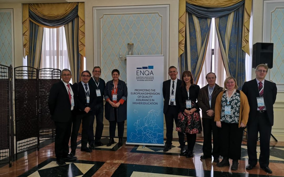 • Director of Unibasq Eva Ferreira elected Vicepresident of the Board of ENQA