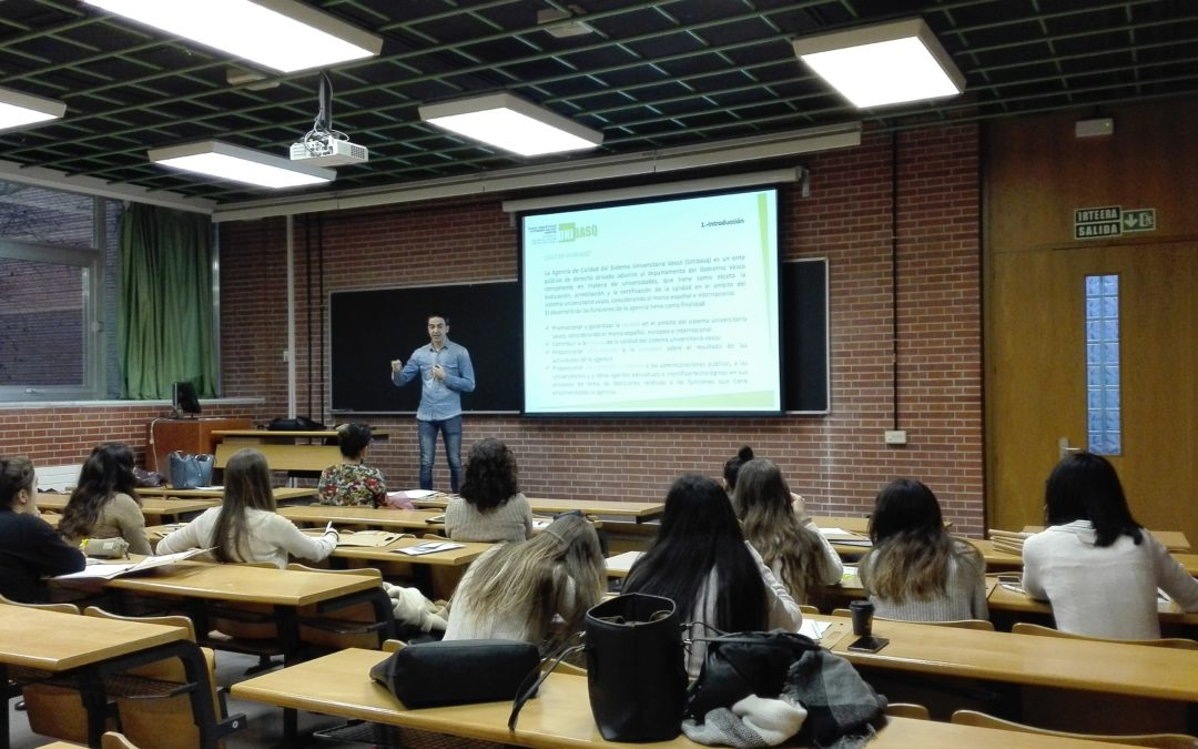 • Unibasq offered a training workshop for students