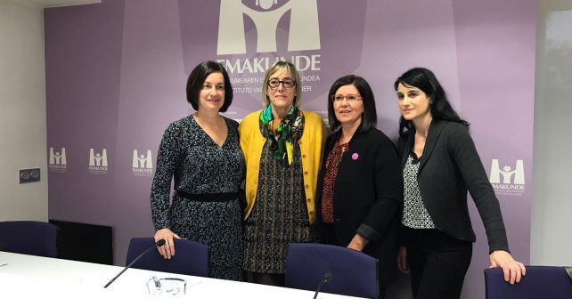 • Emakunde's 2018 Equality Award to UPV/EHU's Master in Equality and Deusto's Master in Intervention in Violence Against Women
