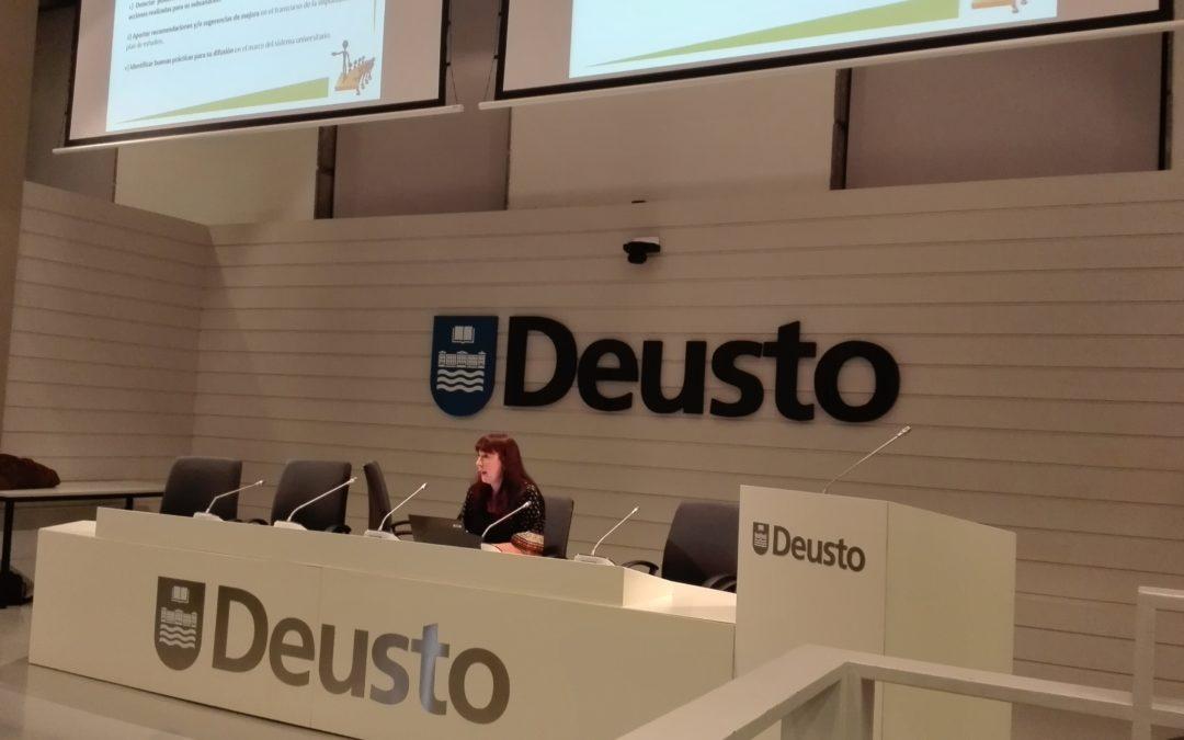 • Nuevo taller de estudiantes en la Universidad de Deusto impartido por Unibasq