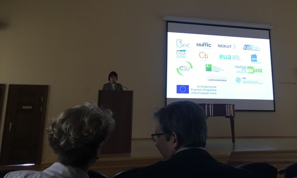 • Unibasq takes part in the final conference of the LIREQA project